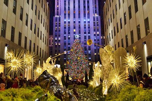 NAvidad en el Rockefeller Center de Nueva York