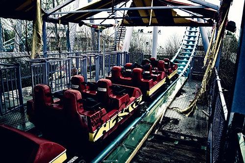 Parque abandonado Six Flags Jazzland