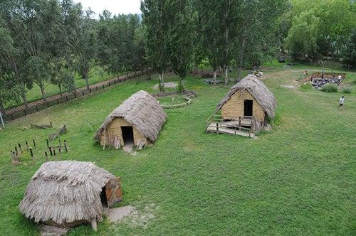 Parque neolitico en Bañolas