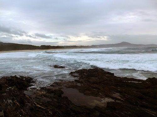 Playa Boca do Rio en Galicia