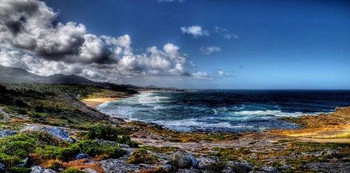 Playa de Arealonga en Galicia