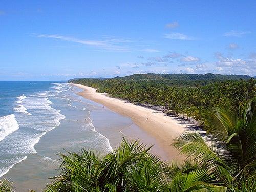 Playa de Itacarezinho en Brasil