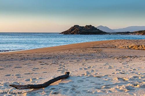Playa del Castro de Baroña en Galicia