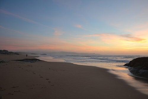 Playa O Vilar en Galicia