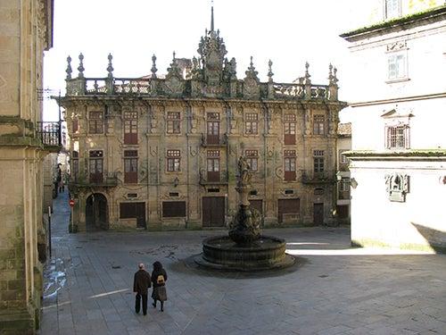 Plaza de Platerias de Santiago de Compostela