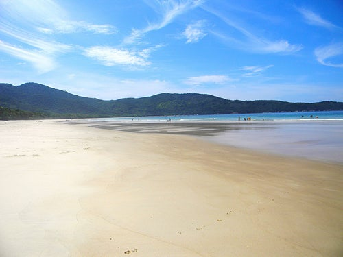 Praia de Lopes Mendez en Brasil