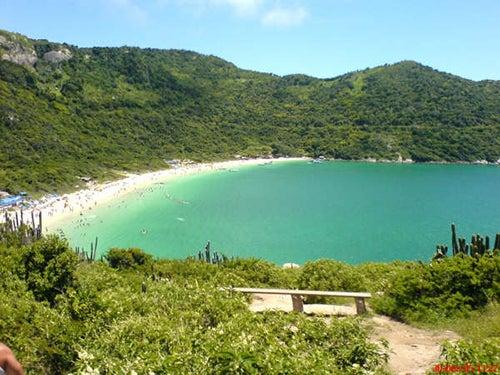 Praia do Forno en Brasil