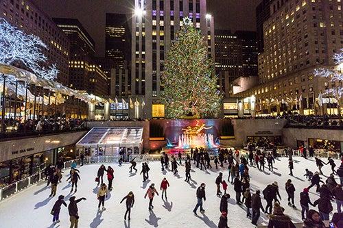 Rockefeller Center de Nueva York en NAvidad