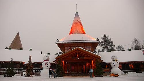 Rovaniemi en Navidad