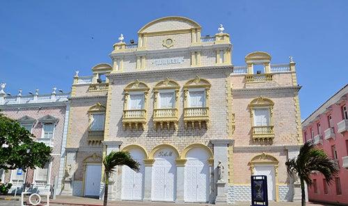 Teatro de Heredia en Cartagena