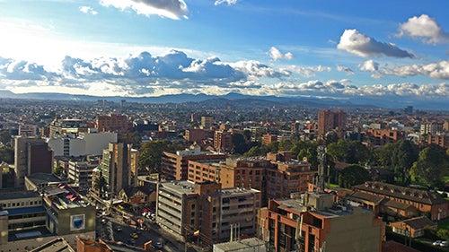 Vista de Bogotá