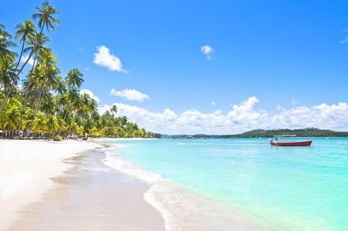 Playa de Carneiros en Brasil