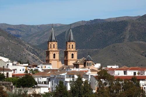 Catedral de Órgiva, uno de los pueblos más bonitos de la Alpujarra