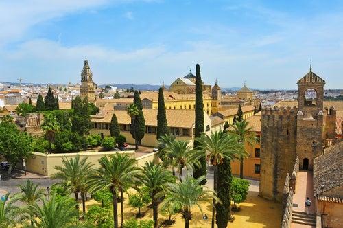 Alcázar y catedral de Córdoba