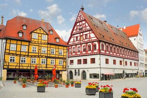 Casa de baile en Nordlingen