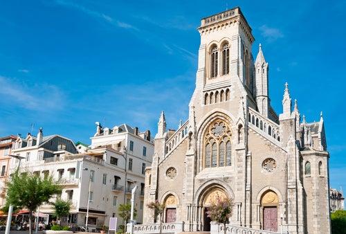 Catedral de Santa Eugenia en Biarritz