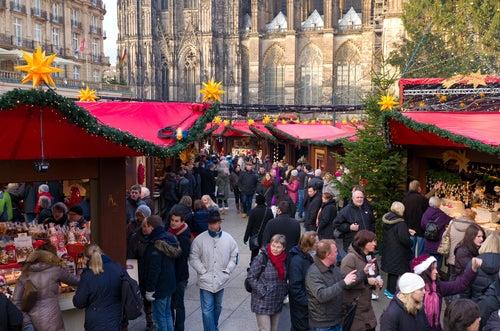 Mercadillo navideño de Colonia