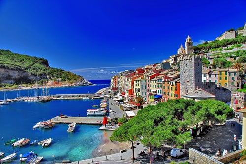 Portovenere en la Riviera Italiana