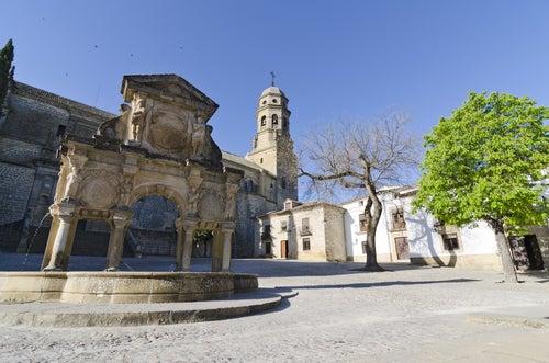 Plaza de Santa María de Baeza