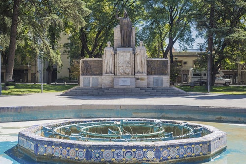Plaza de la Independencia de Mendoza