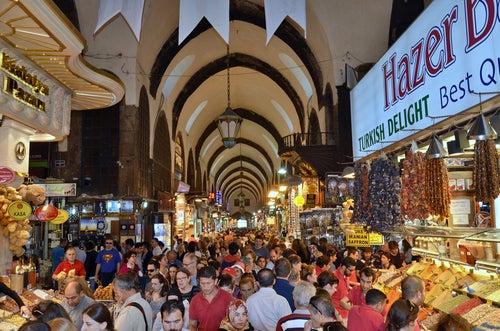 Bazar de las Especias en Estambul