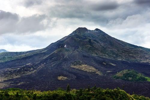 Volcán Batur en Bali