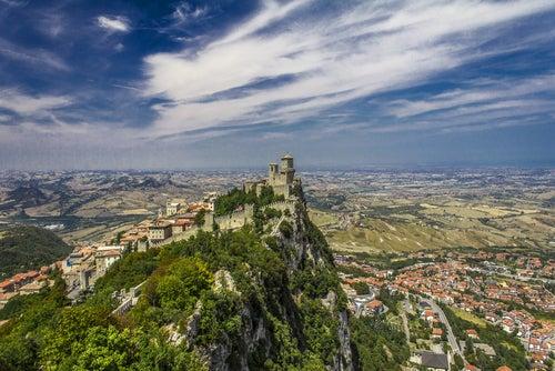 Monte Titano en San Marino
