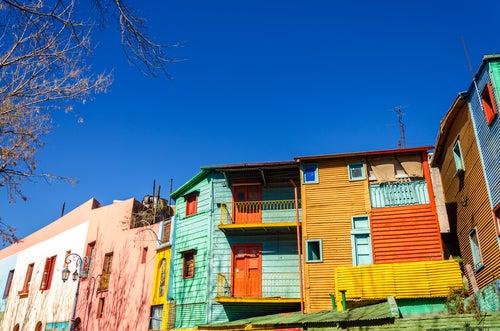 Barrio de La Boca en Buenos Aires