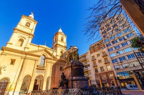Iglesia de Santo Domingo en Buenos Aires