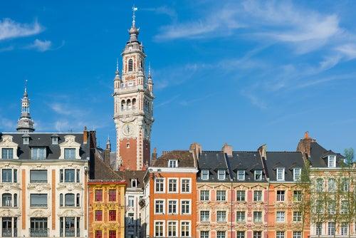 vista de Lille en Francia