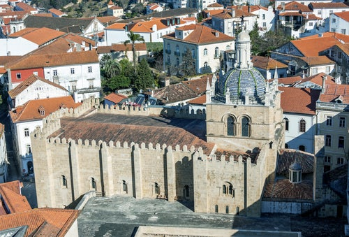 Sé Velha en Coimbra