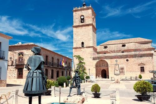 El Toboso en la ruta del Quijote