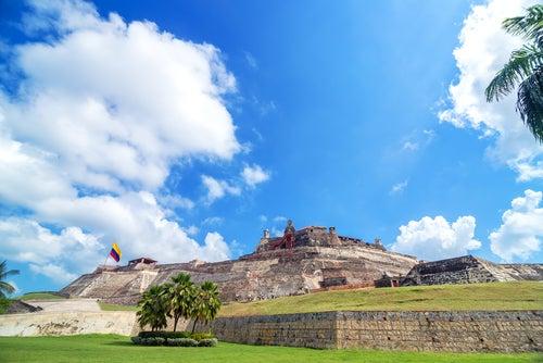 Castillo de San Felipe de Barajas en Cartagena