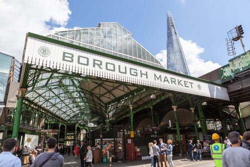 Borough Market en Londres