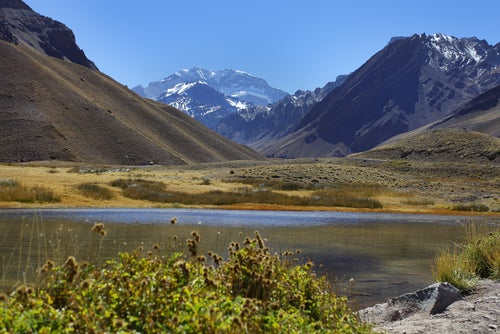 Aconcagua cerca de Mendoza
