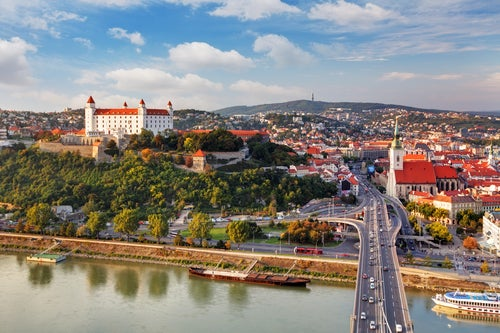 Vista de Bratislava en Esolvenia