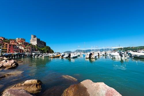 Lerici en la Riviera Italiana