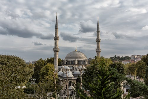 Mezquita de Eyüp en Estambul