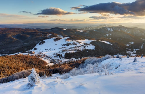 Vista de Donovaly en Eslovenia