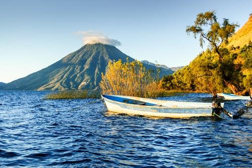 Volcán San Pedro en Guatemala
