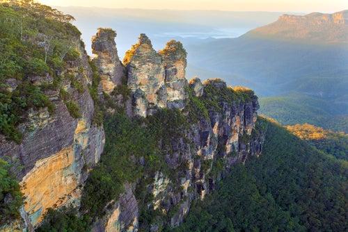 Montañas Azules en Australia