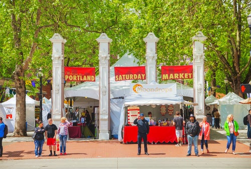 Saturday Market en Portland