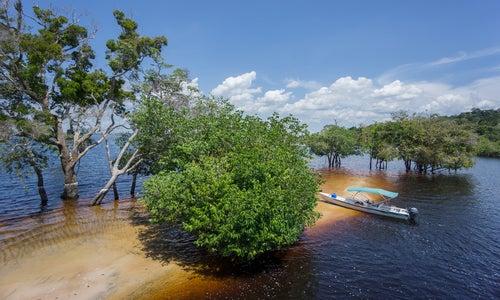 Río Amazonas en Brasil