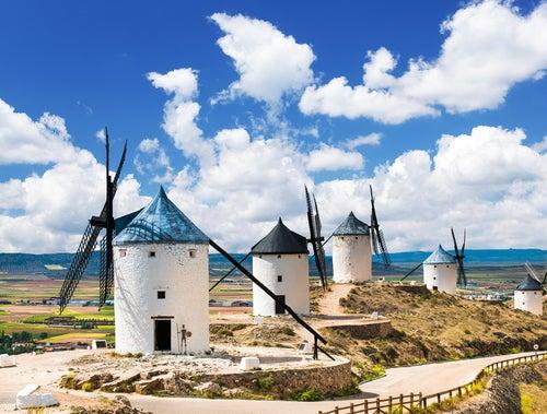 Camino por la ruta del Quijote