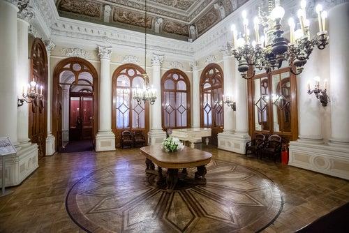 Palacio Moika en San Petersburgo
