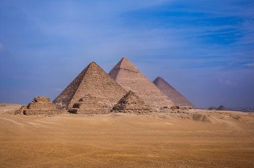 Pirámides de Giza en Africa