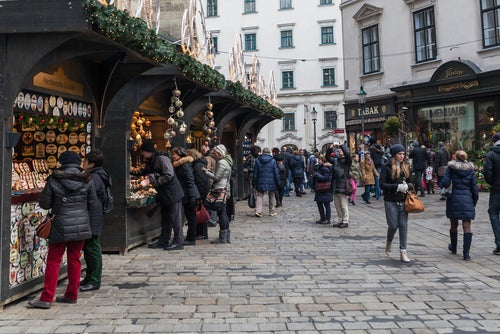 Mercadillo navideño de Viena