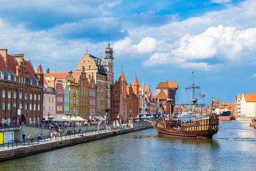 Gdansk en Polonia
