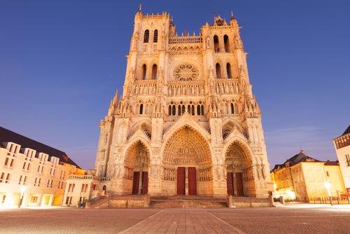 Catedral de Amiens en Francia