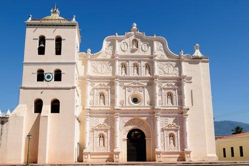 Catedral de Comayagua en Honduras